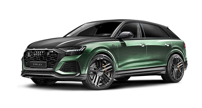 Audi RS Q8 Racing Green Edition
