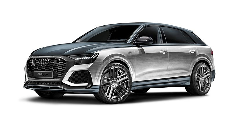 Audi RS Q8 Silver Storm Edition