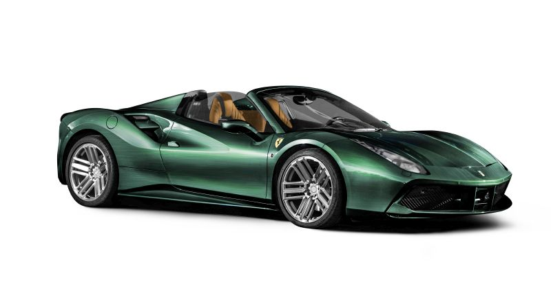 Ferrari 488 Racing Green Edition