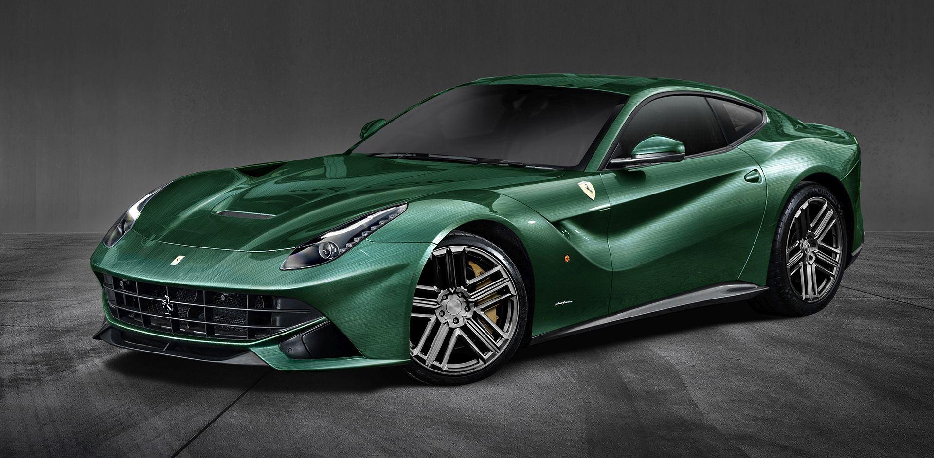 Ferrari F12 Berlinetta Racing Green Edition Limited Edition Carlex Design