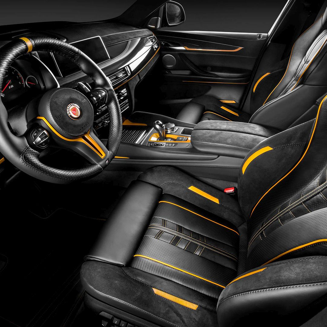 Carlex Design Interior BMW X6 Manhart