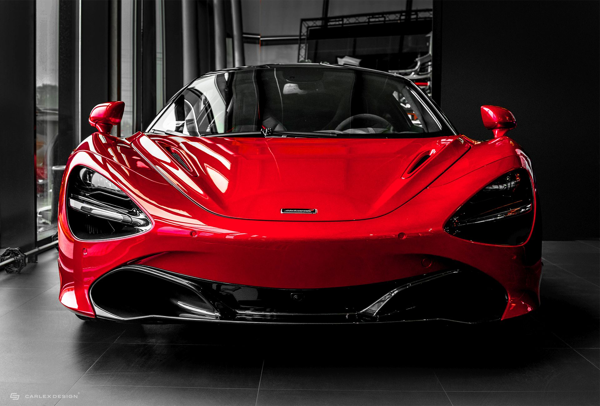 Carlex Design Interior McLaren 720S Red