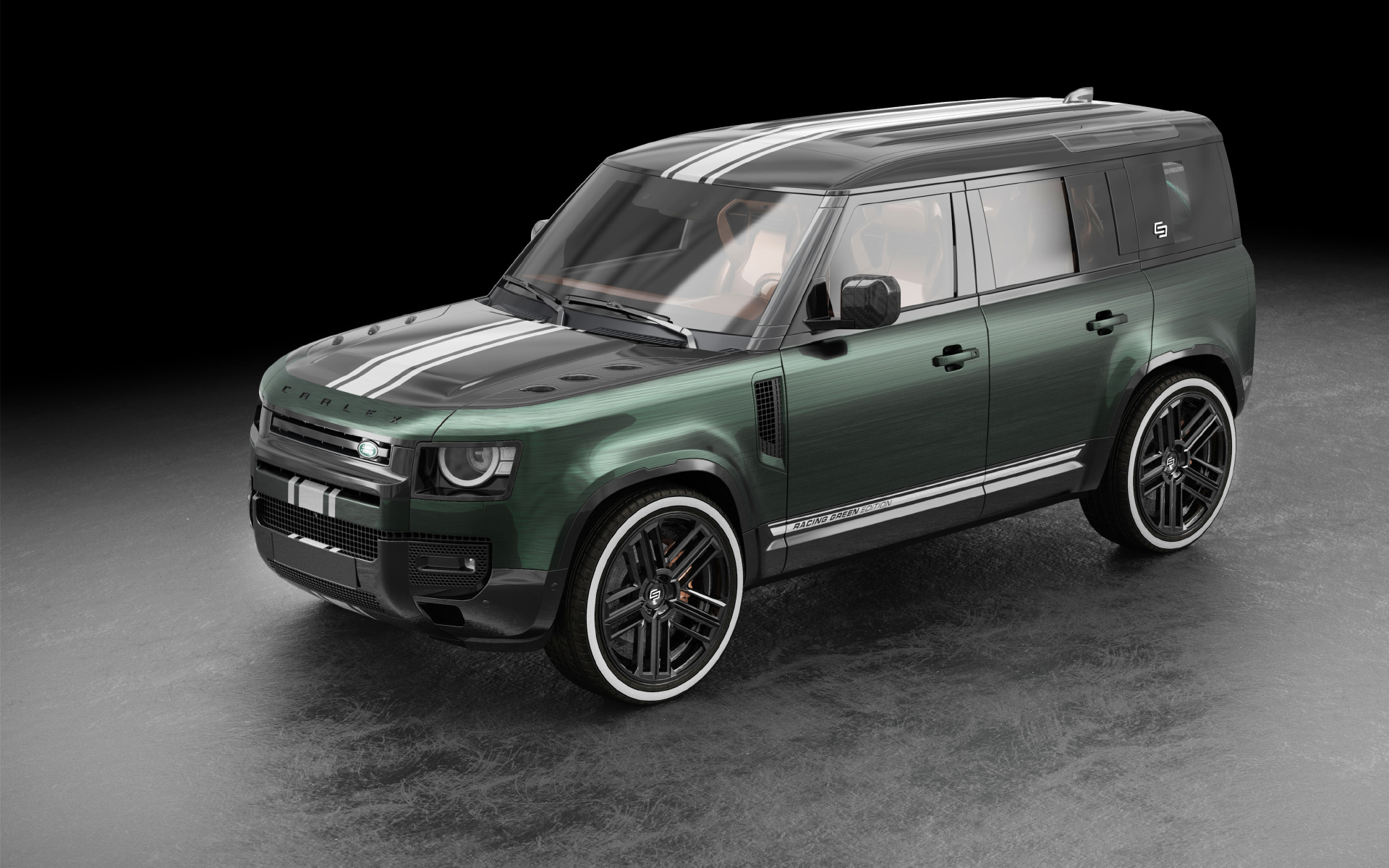 Land Rover Defender Racing Green Edition