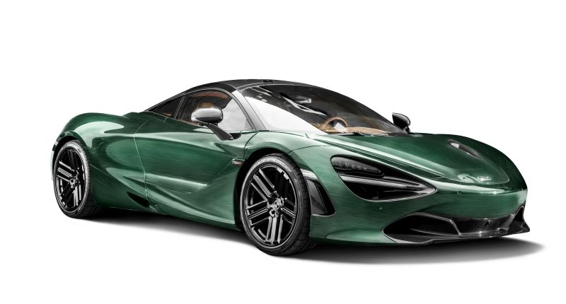 McLaren 720s Racing Green Edition