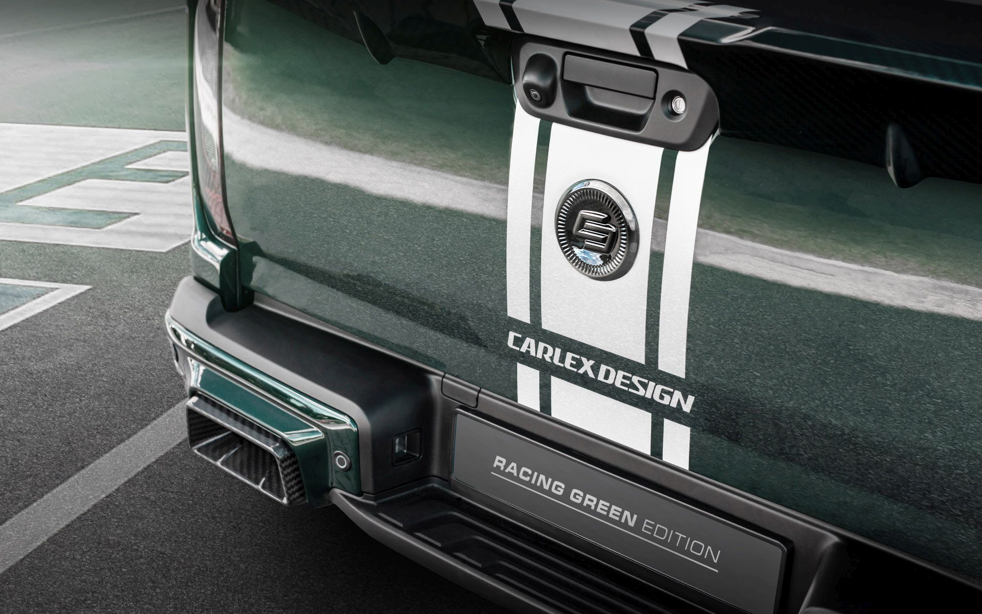 Mercedes-Benz X-Class EXY Racing Green Edition