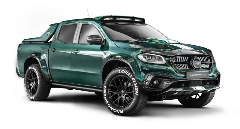 Mercedes-Benz EXY Racing Green Edition