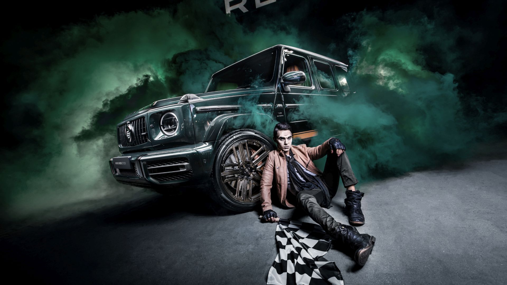Mercedes-Benz G63 AMG Racing Green Edition