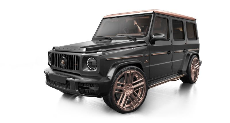 Mercedes-Benz G63 AMG Steampunk Edition
