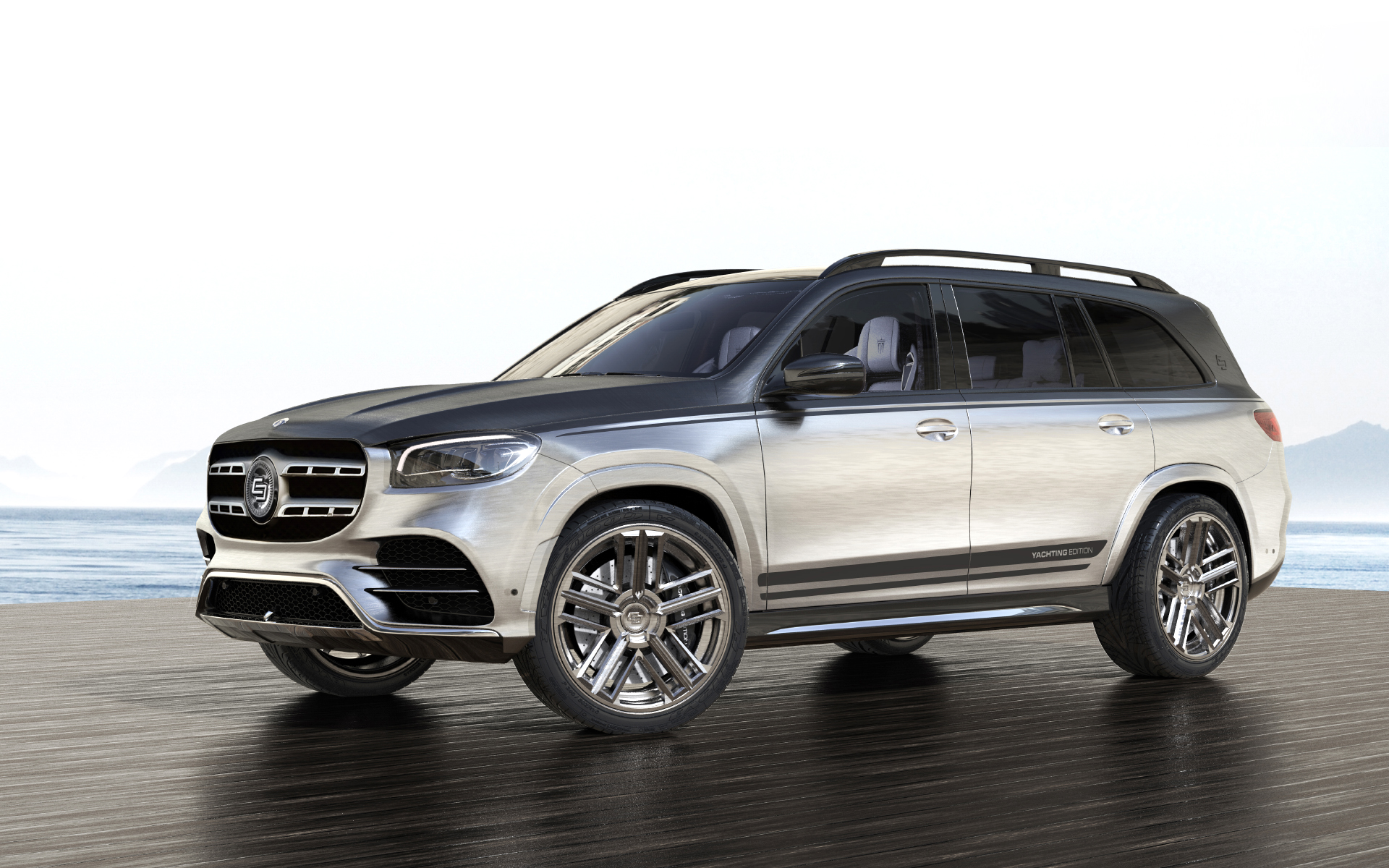 Mercedes GLS Yachting