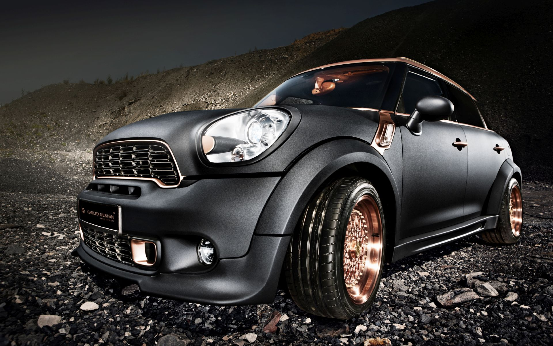 Mini Countryman Steampunk Edition
