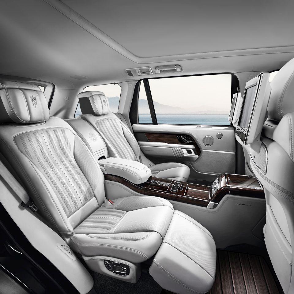 Range Rover Yachting