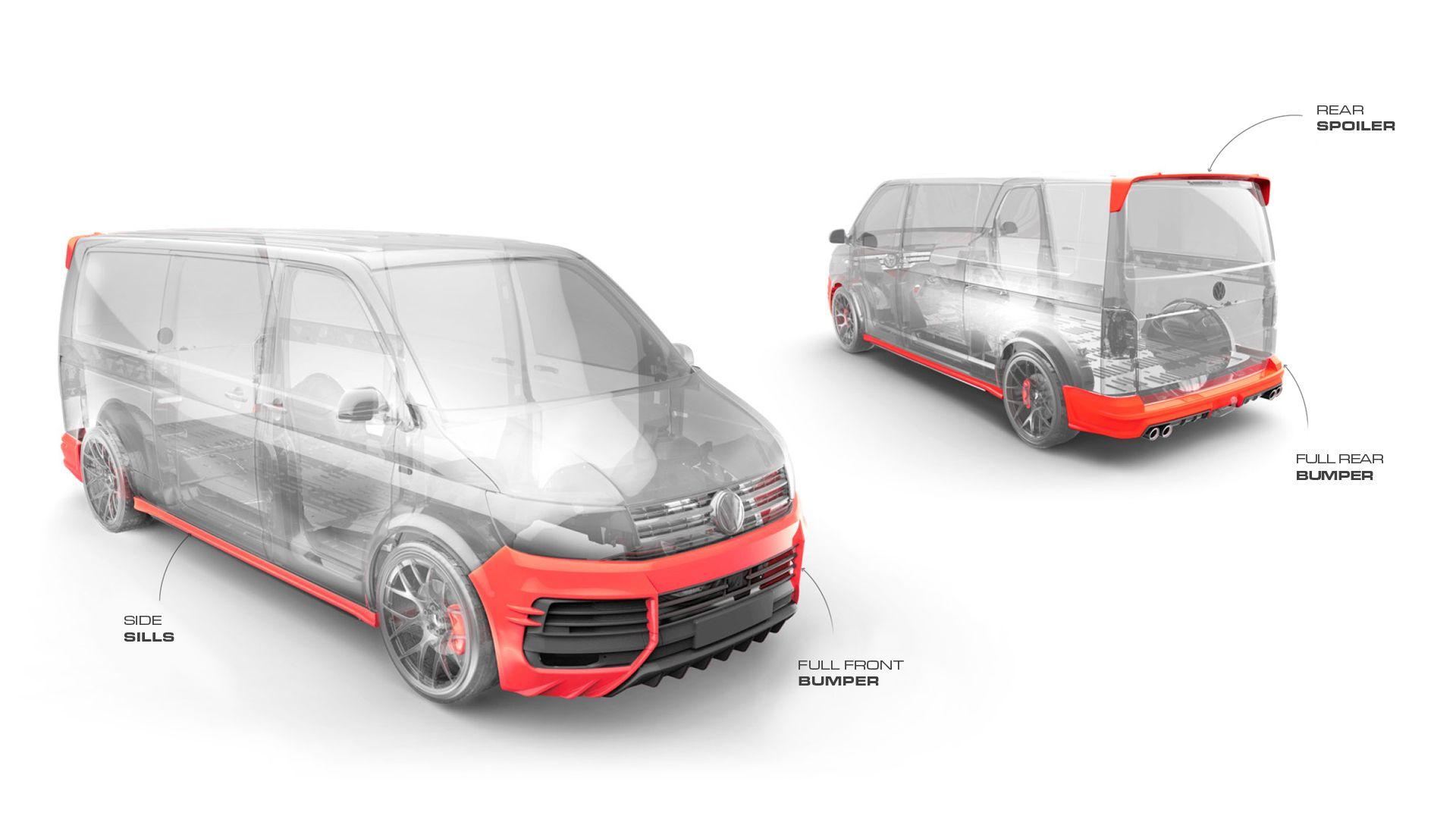 Volkswagen T6 Carlex Limited Edition